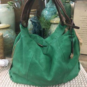 Handbags - Vegan leather bag boho satchel